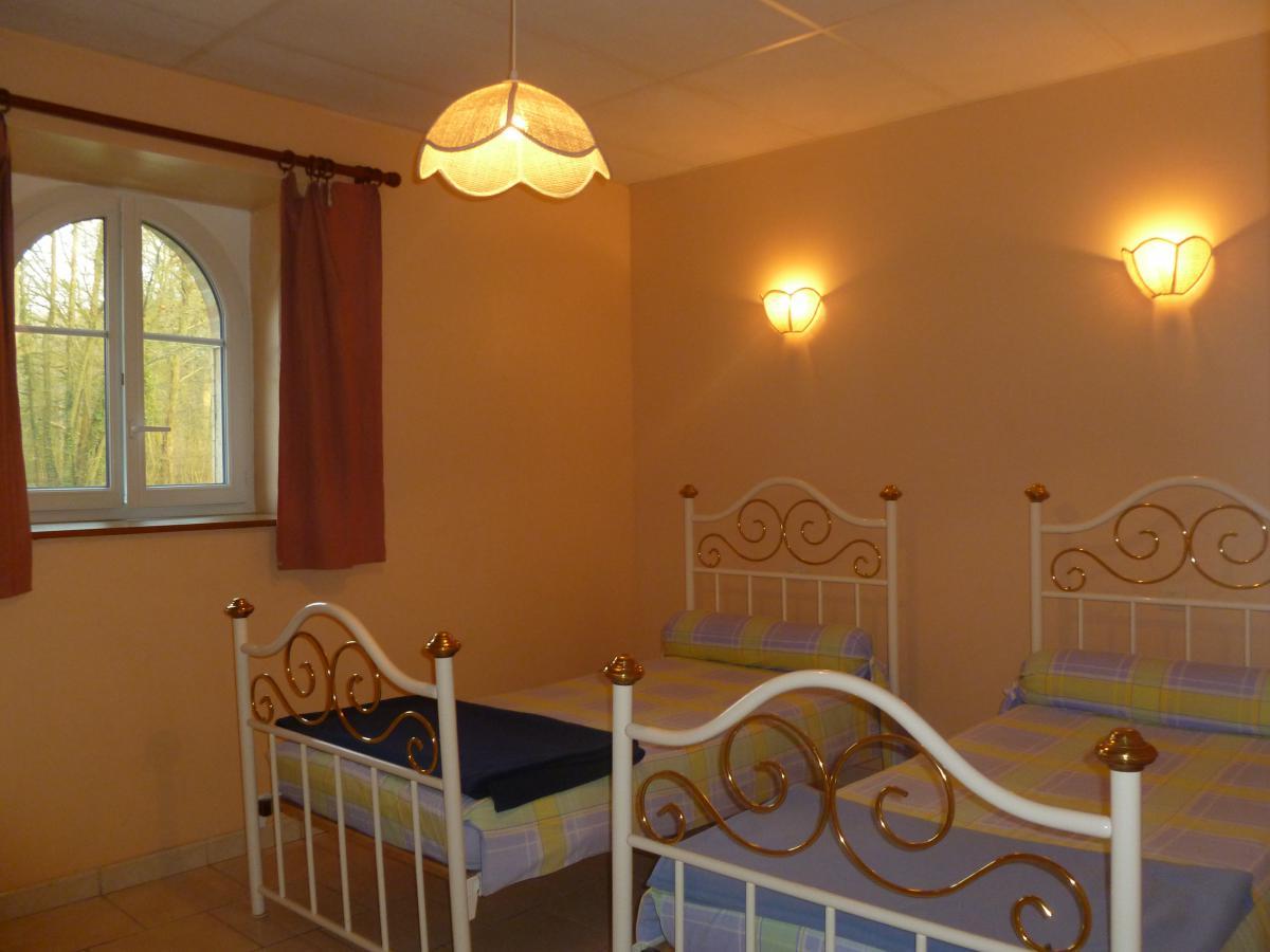 Chambre avec 2 lits de 1 personnes<br>